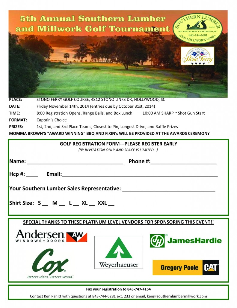 2014 SOUTHERN GOLF INVITATIONALv2
