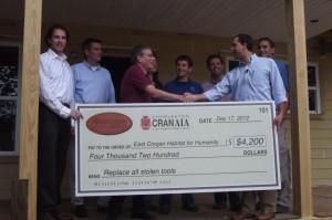 CRAN gives to Habitat